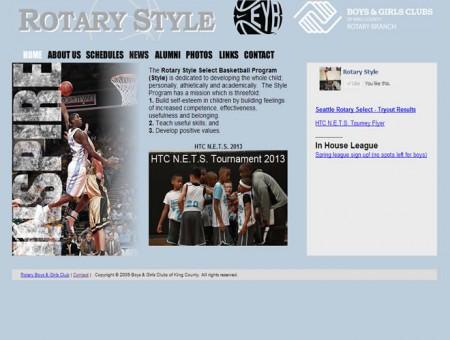 Rotary Style Basketball